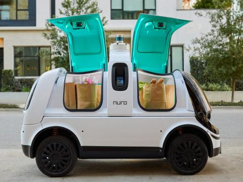 Nuro R2, vehículo de reparto.