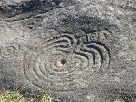 Petroglifos de Mogor.