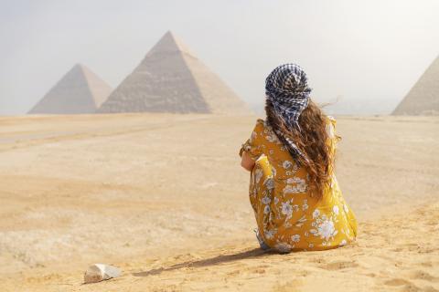 Las pirámides no fueron construidas por esclavos.