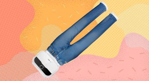 Plancha secadora automática para pantalones y camisas