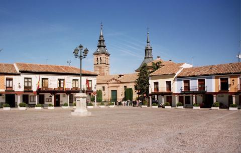 Plaza de Segovia de Navalcarnero (Madrid)