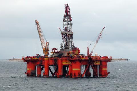 Pozo de petróleo en China