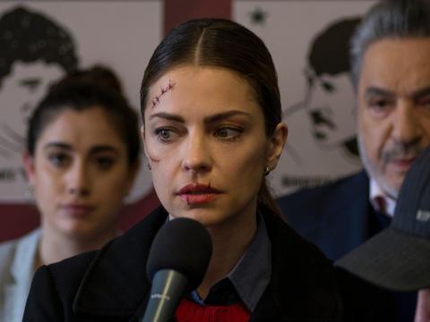 Dolores Fonzi protagoniza 'Puerta 7'.