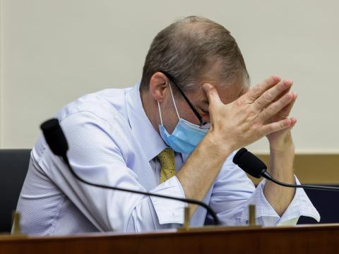 'Put your mask on!': Lawmakers erupt after Rep. Jim Jordan's outburst apple google amazon facebook