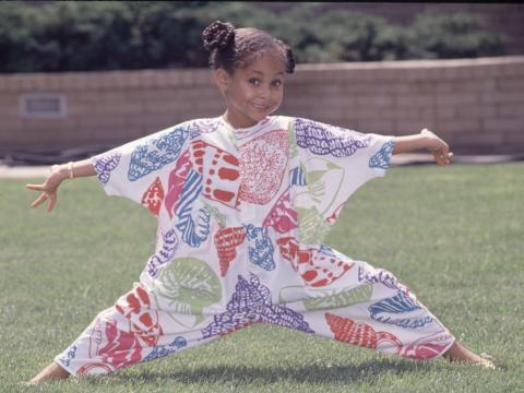 Raven Symone en 1990.