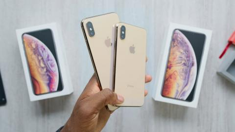 Réplica china del iPhone XS.