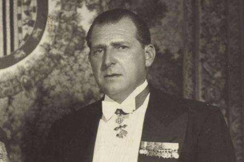 Retrato de Juan de Borbón en 1964.
