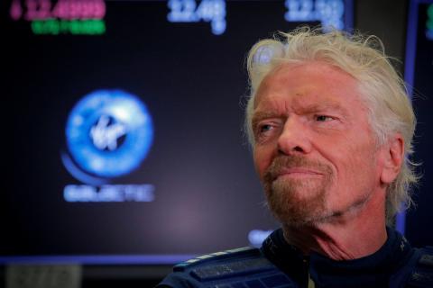 Richard Branson, fundador y CEO de Virgin