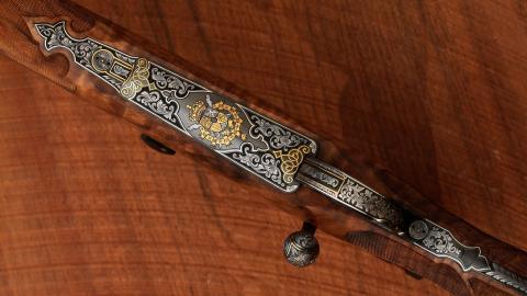 El rifle de caza personal de Juan Carlos de Borbón.