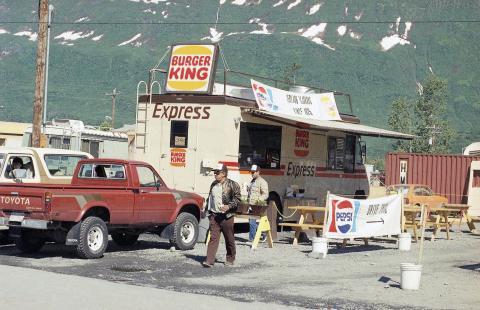 Burger King Express en Valdez, Alaska.