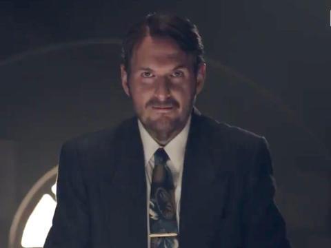 """""""El Robo del Siglo"""" stars Andrés Parra, Christian Tappan and Marcela Benjumea."""