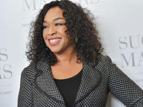 """Shonda Rhimes is best known for her ABC shows """"Grey's Anatomy"""" and """"Scandal."""""""