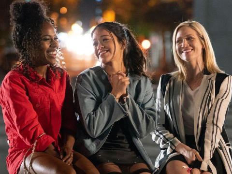 DeWanda Wise, Gina Rodriguez, y Brittany Snow son las mejores amigas en 'Alguien especial'