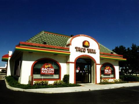 Taco Bell en 1996.