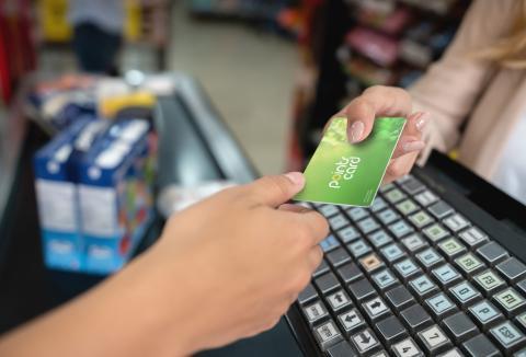 tarjeta supermercado