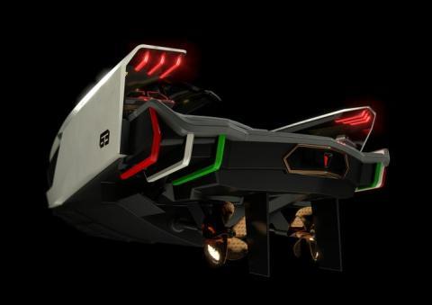 Tecnomar para Lamborghini 63.