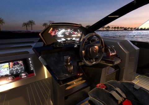 Tecnomar por Lamborghini 63.