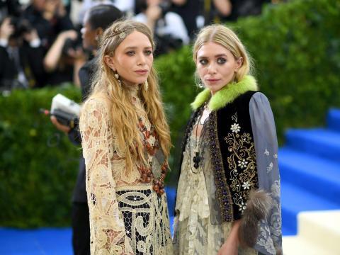 Mary-Kate y Ashley Olsen asisten a la Gala Met.