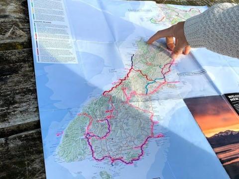 Los mapas digitales son geniales, pero los mapas en papel son bastante confiables.
