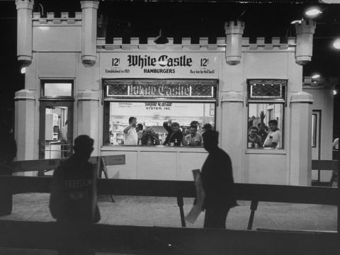 White Castle en 1963.