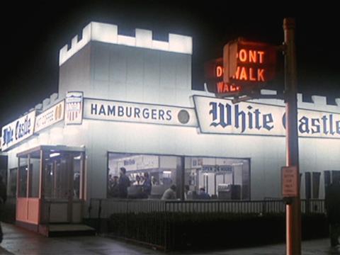 White Castle en la película 'Fiebre del sábado noche'.