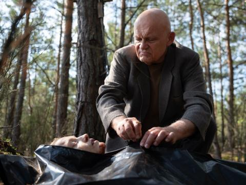 """Grzegorz Damięcki, Agnieszka Grochowska, Wiktoria Filus and Hubert Miłkowski costar in """"The Woods."""""""