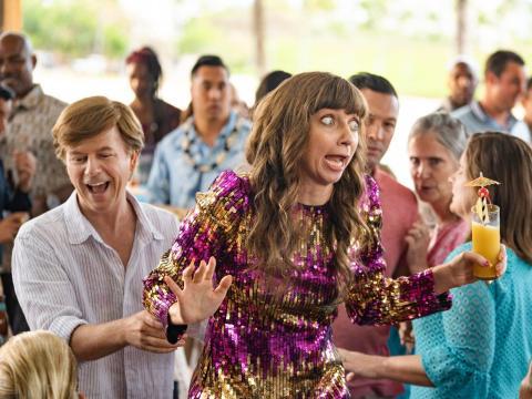 David Spade y Lauren Lapkus protagonizan 'La otra Missy'