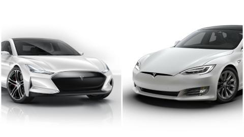 Youxia X y Tesla Model S.