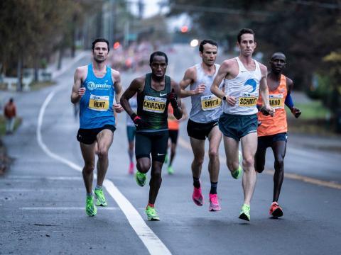 El Maratón Internacional de California 2019.