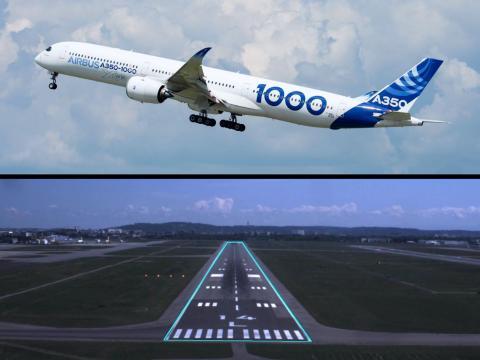 An Airbus A350-1000 XWB aircraft. Airbus