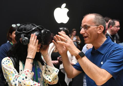 Apple has been expanding further into virtual reality hardware and software. Josh Edelson/Getty Images