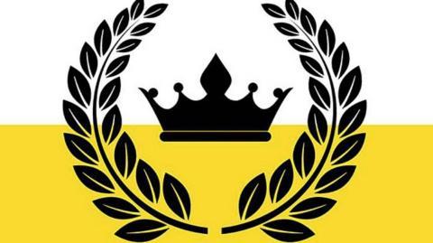 bandera del reino de Enclava
