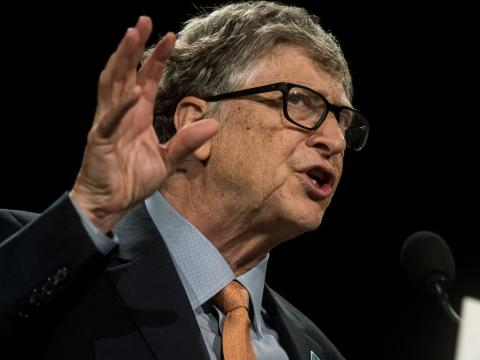 Bill Gates advierte que el impacto del cambio climático será peor que el coronavirus