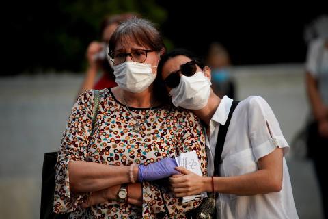 Brote de coronavirus en Madrid.