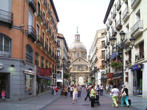 Calle Alfonso I, Zaragoza.
