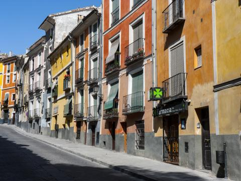 Calle Alfonso VIII, Cuenca.