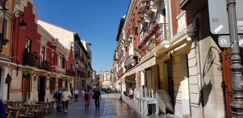 Calle Ancha, León.