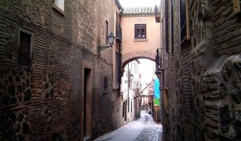 Calle del Ángel, Toledo.
