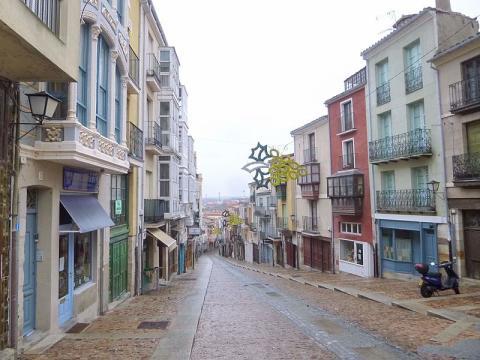 Calle Balborraz, Zamora.