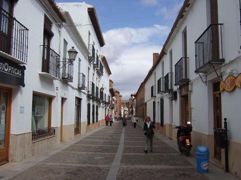 Calle Cervantes, Villanueva de los Infantes.