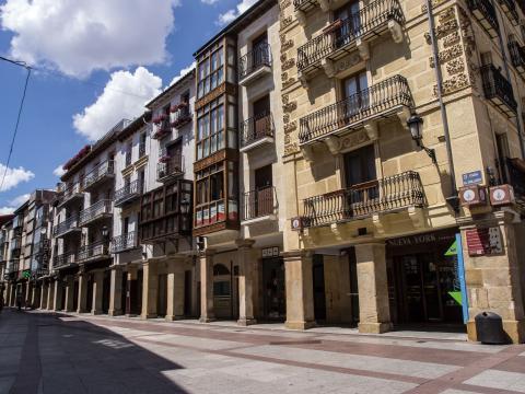 Calle El Collado, Soria.