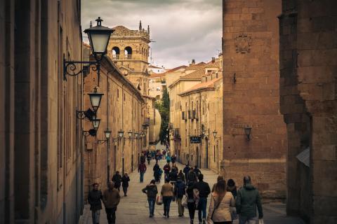 Calle de la Compañía, Salamanca.