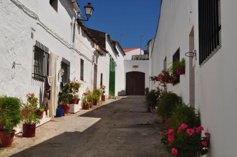Calle Jurumeña, Barcarrota.