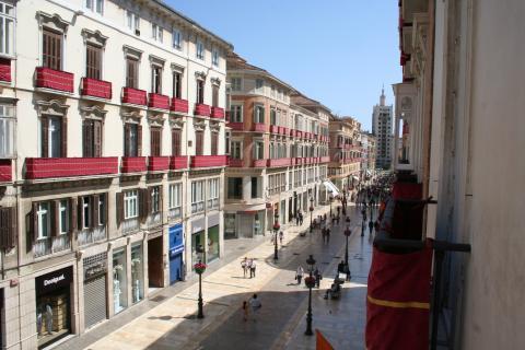 Calle Marqués de Larios, Málaga.