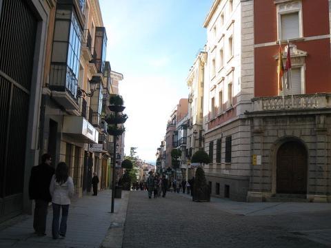 Calle Mayor, Guadalajara.