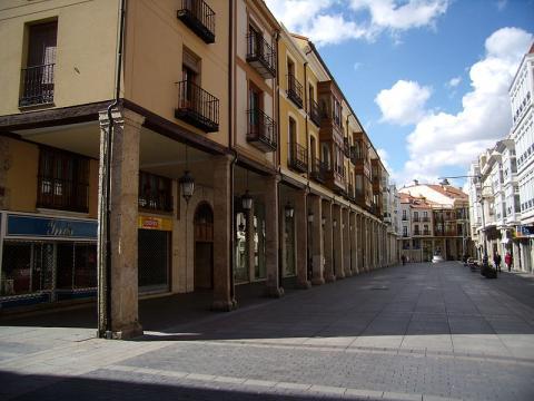 Calle Mayor Principal, Palencia.