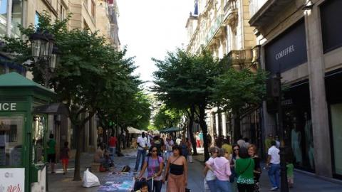 Calle del Paseo, Ourense.