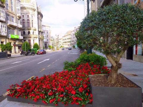 Calle Policarpo Sanz, Vigo.