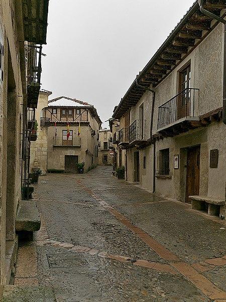 Calle Real, Pedraza, Segovia.
