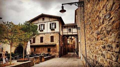Calle del Redín, Pamplona.